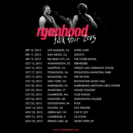 2015 Fall Tour Dates